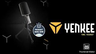 UNBOXING Mikrofonu Yenkee YMC 1020GY [Grotts cz]