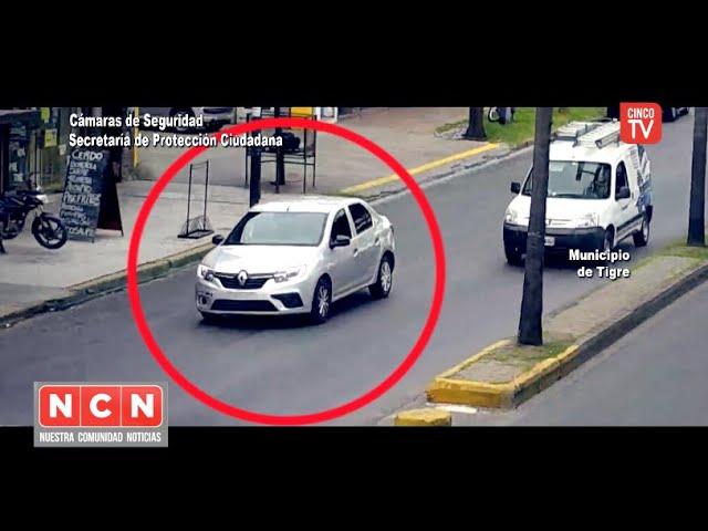 CINCO TV - El COT detuvo a un automóvil con pedido de captura