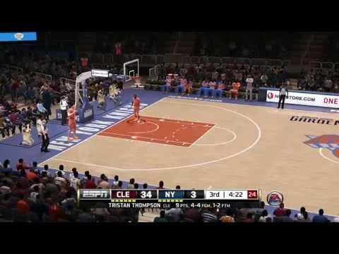 Hail Mary field goal in NBA Live 14 Basketball