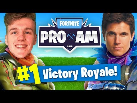 TRAINING For The $3,000,000 E3 Fortnite ProAm wRobbie Amell