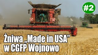 "Żniwa ""Made in USA"" w CGFP: Case IH 9240, 8240, John Deere S790i"