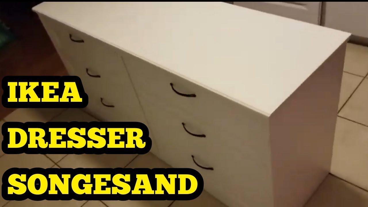 san francisco c064d b9206 IKEA SONGESAND 6 DRAWER DRESSER REVIEW