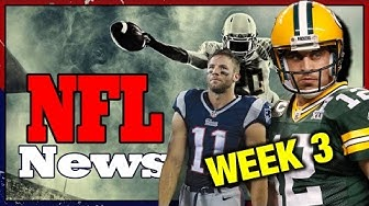 EDELMANN ALS QB ? | Aaron Rodgers & Knieverletzung Wilson | NFL-NEWS Week 3 | Deutsch German