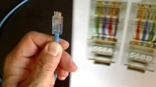 Comment fabriquer un câble réseau Ez-rj45