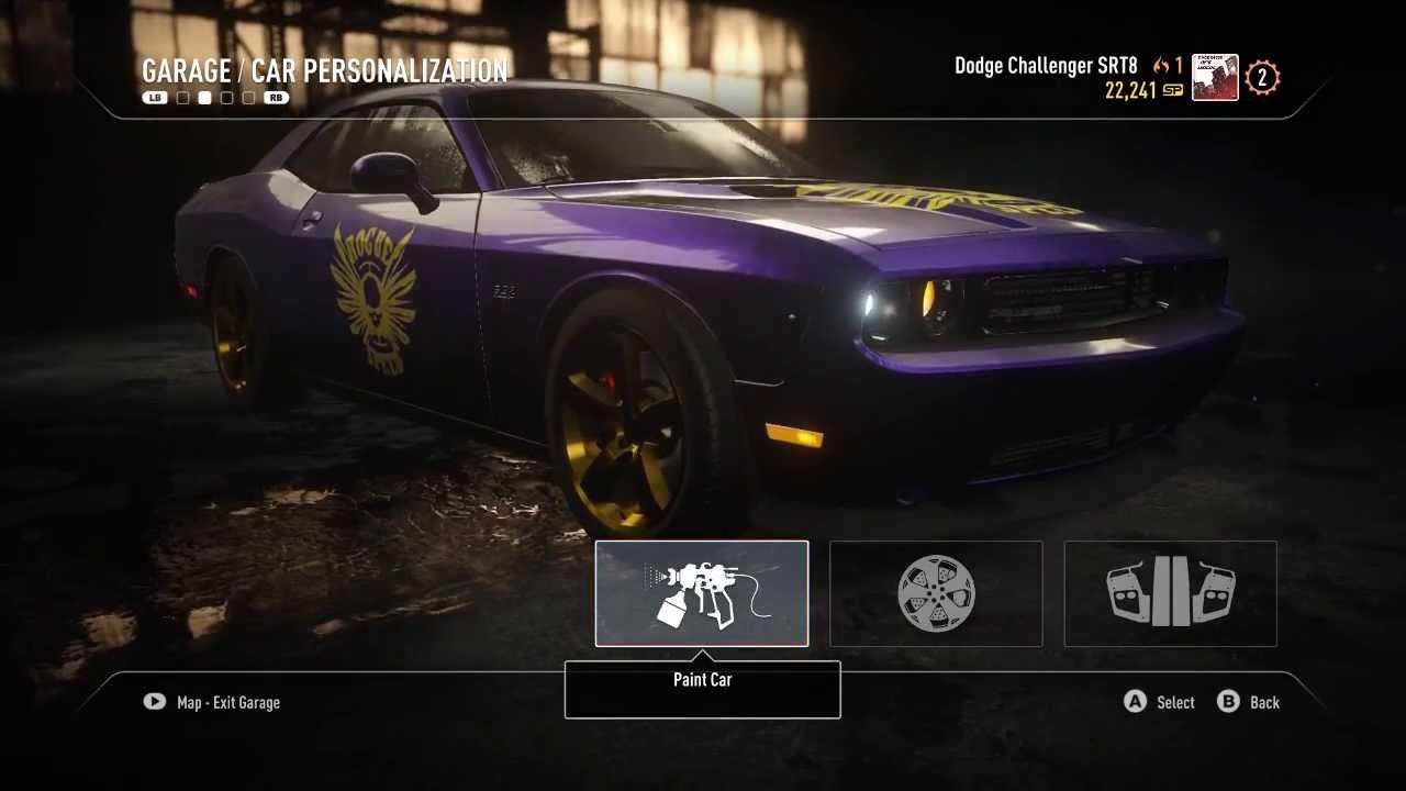 Lets Customize!:Dodge Challenger SRT8 NFS:Rivals - YouTube