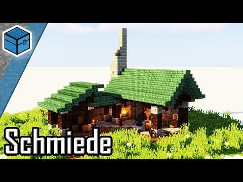 Schmiede In Minecraft Bauen   Minecraft Schmiede Bauen Deutsch