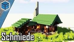 Schmiede in Minecraft bauen | Minecraft Schmiede bauen deutsch