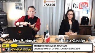 CARAVANA MIGRANTE AMENAZA CON MARCHAR Y CERRAR LA FRONTERA 1RO DIC 2018 - HASTA EN LA COCINA EP 42