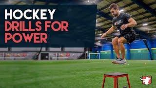 Hockey Drills For Explosive Power + Speed