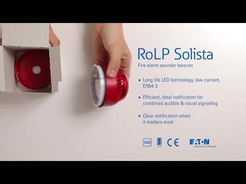 Unboxing the RoLP Solista fire alarm sounder beacon