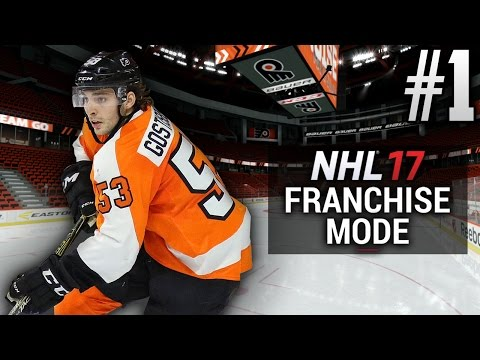 NHL 17 Franchise Mode | Philadelphia Flyers | EP1 | RELOCATION