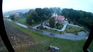 Global Drone GW180 | Eken H9R | On Board