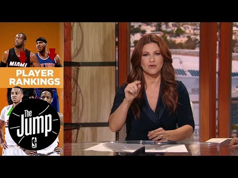 Players getting bent over NBA media rankings | The Jump | ESPN