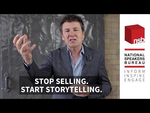 Stop Selling. Start Storytelling | Tony Chapman | National Speakers Bureau