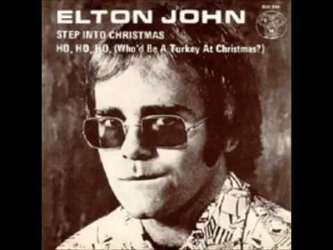 Step Into Christmas.Elton John Step Into Christmas