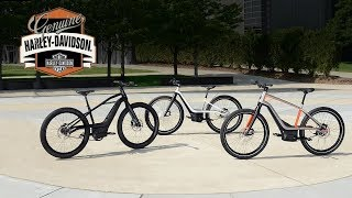 Harley Davidson Unveils 3 Electric Bicycle Prototypes - What We Know