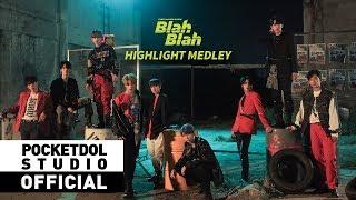 원더나인 1THE9 Blah Blah Highlight Medley