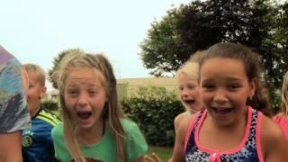 Trailer Spooktocht Camping De Oude Molen in Groesbeek 2015
