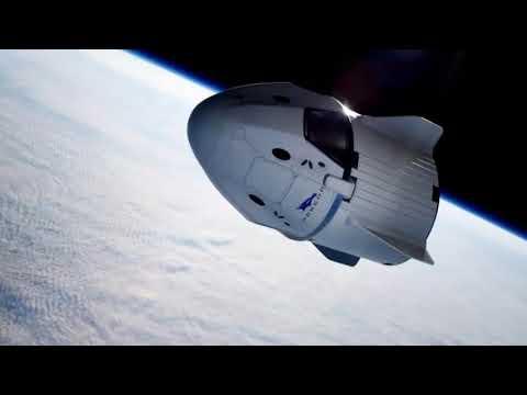SpaceX Crew Dragon Spacecraft Explosion. UFO & Ruslan Brovkin