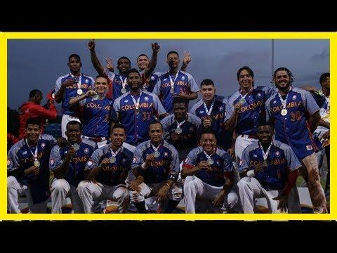 Colombia venció a panamá y ganó oro en el béisbol bolivariano