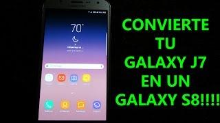¡CONVIERTE TU GALAXY J7 EN UN GALAXY S8! MDK ROM 3.9.1 FINAL