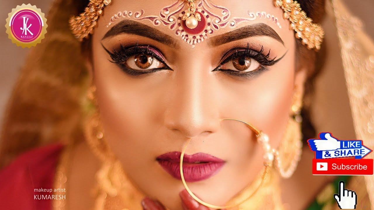 hd makeup*indian bridal makeup *bengali bride* - nuptials city