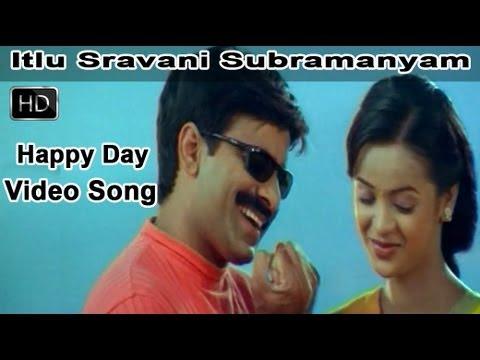 Happy Day Full Video Song    Itlu Sravani Subramanyam Movie    Ravi Teja    Tanu Roy    Samrin
