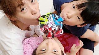 게임을 해서 원하는걸 먹어요!! 서은이와 유준이의 세가지맛 스퀴즈 캔디 Squeeze Candy for Kids Seoeun Story