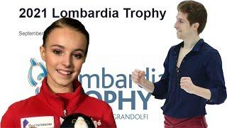 Lombardia Trophy 2021 ФИГУРИСТ ГРУППЫ ТУТБЕРИДЗЕ ВЫСТУПИТ в Бергамо