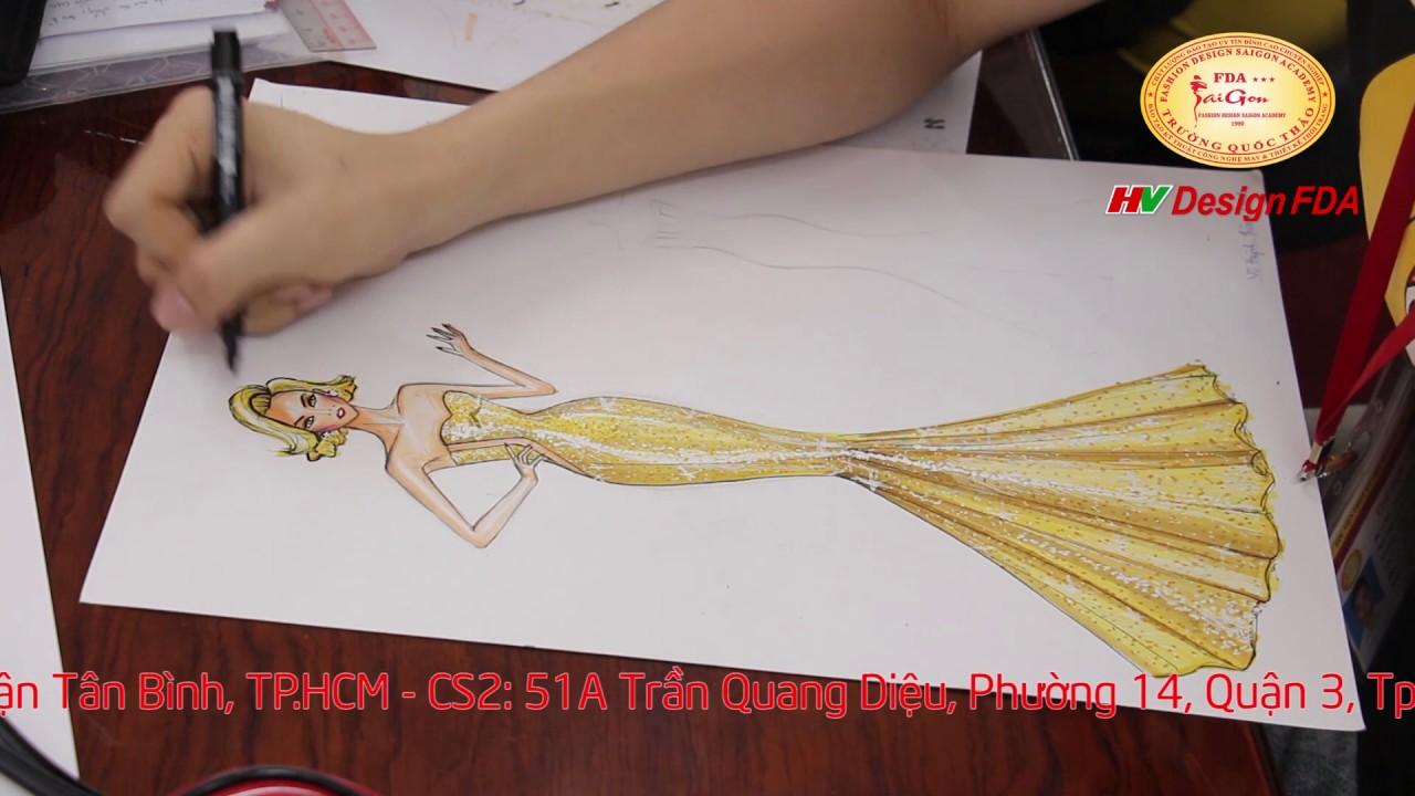 Vẽ Minh Họa Thiết Kế Thời Trang – fashion illustration