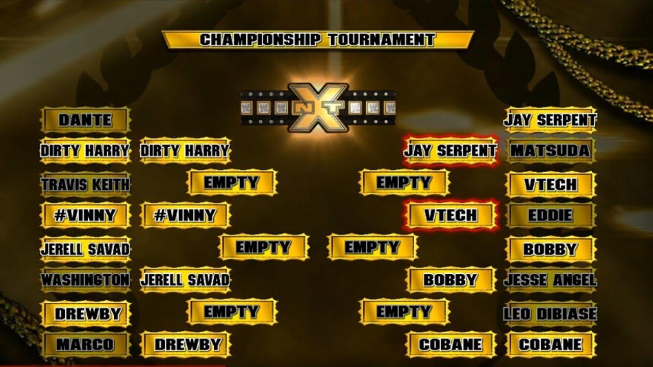 My WWE 2K14 Universe Mode NXT Episode 3 Gold Rush Quarter Finals YouTube