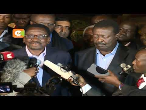 Anxious moments as Odinga fails to address nation
