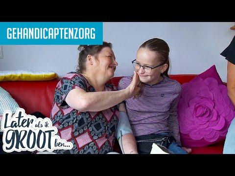 FLEUR HELPT GRAAG INVALIDEN. WERKEN IN DE GEHANDICAPTENZORG | Later Als Ik Groot Ben (RTL4)