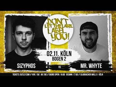 Mr. Whyte vs Sizyphos // DLTLLY RapBattle (Köln) // 2019