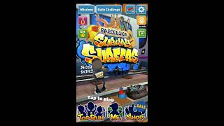 Pick Up 500 Coins with Power Jumper - Subway Surfers