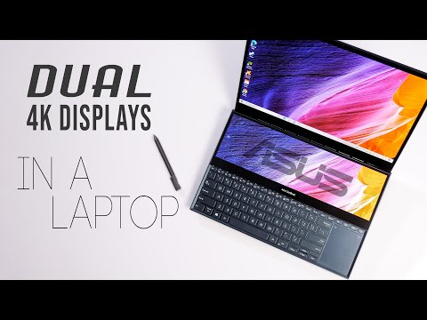 This is INSANE | ASUS Zenbook ProDuo UX581 | Review