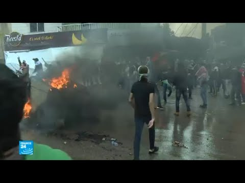 غضب وعنف أمام السفارة الأمريكية في لبنان احتجاجا على قرار ترامب  - 15:23-2017 / 12 / 11