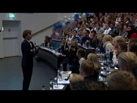 Siviløkonomenes dag 2013 på Handelshøyskolen BI - Petter Stordalen