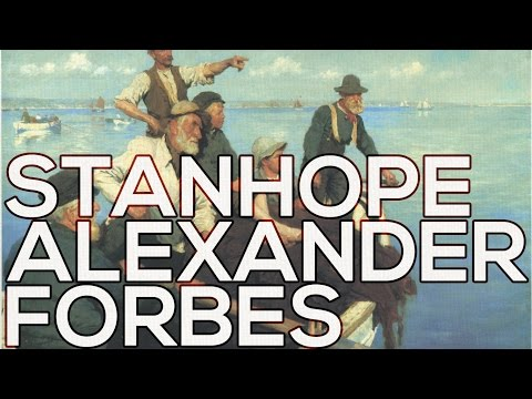 Stanhope Alexander Forbes: A collection of 110 paintings (HD)