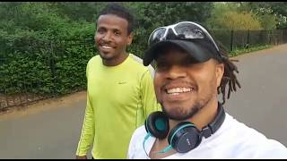 CHASING ELIUD KIPCHOGE | Running With Sayed | 10k Road Race Preparation