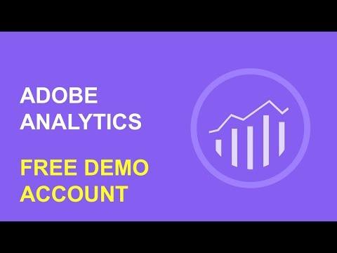 Free Adobe Analytics Demo Account