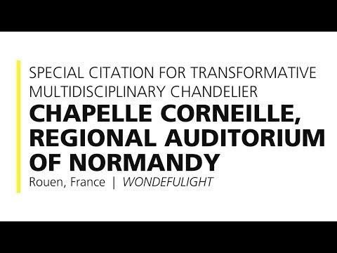 Chapelle Corneille, Regional Auditorium of Normandy – 2017 Special Citation
