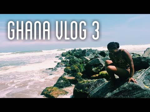 Ghana Vlog #3 | Beach Bums, Nightlife & Dumsor Problems!