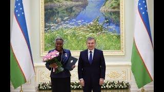 Президент Узбекистана принял Чрезвычайного и Полномочного Посла США