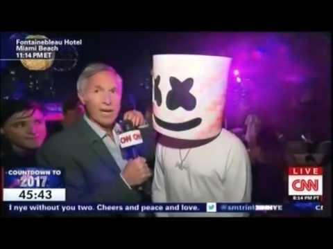 Skrillex & Marshmello LIVE New Years Eve on CNN
