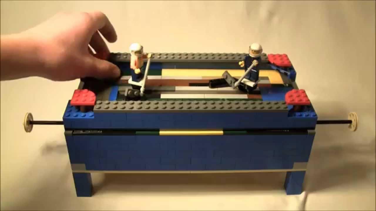 How To Build A Lego Air Hockey Table