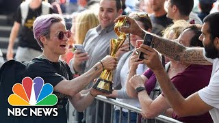 U.S. Soccer Champions Double Down: 'Don't Want To Go To The White House' | NBC News