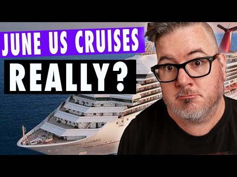 Cruise News Update: JUNE US CRUISES ARE STILL FOR SALE