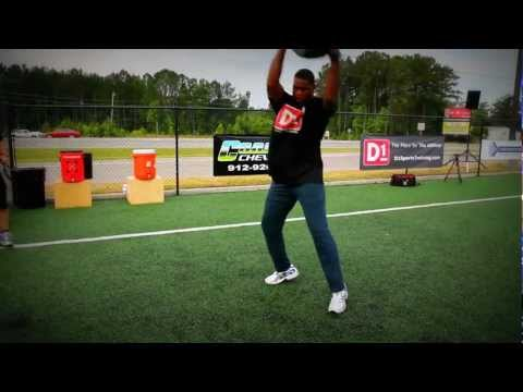 Herschel Walker Workout: Medball Tire Flips Circuit