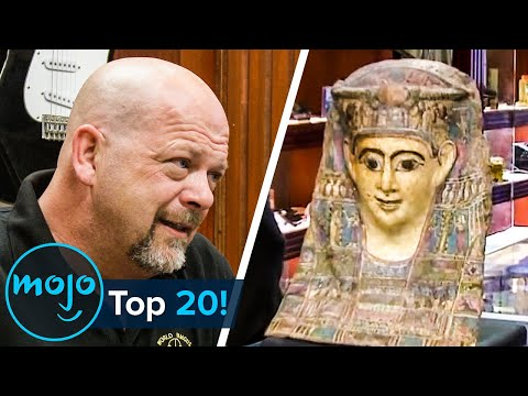 Top 20 Shocking Pawn Stars Discoveries